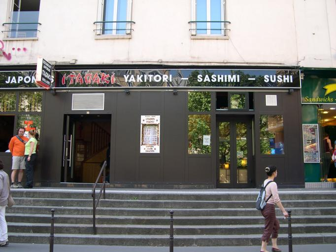 photos paris en 2007 restaurant japonais yakitori sashimi sushi rue monsieur le prince. Black Bedroom Furniture Sets. Home Design Ideas