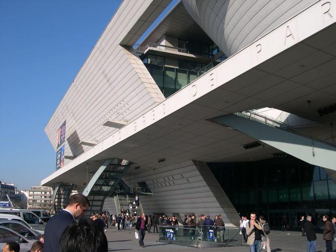 Photos paris en 2008 palais des congr s porte maillot - Adresse palais des congres paris porte maillot ...