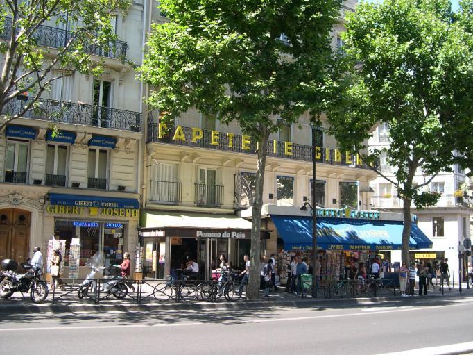 Librairie Gibert, boulevard Saint-Michel, 5e